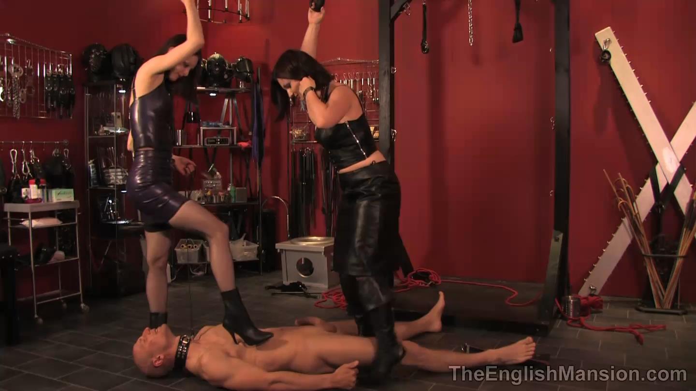 Domina Heelena, Mistress Arella In Scene: The Full Treatment - THEENGLISHMANSION - HD/810p/MP4