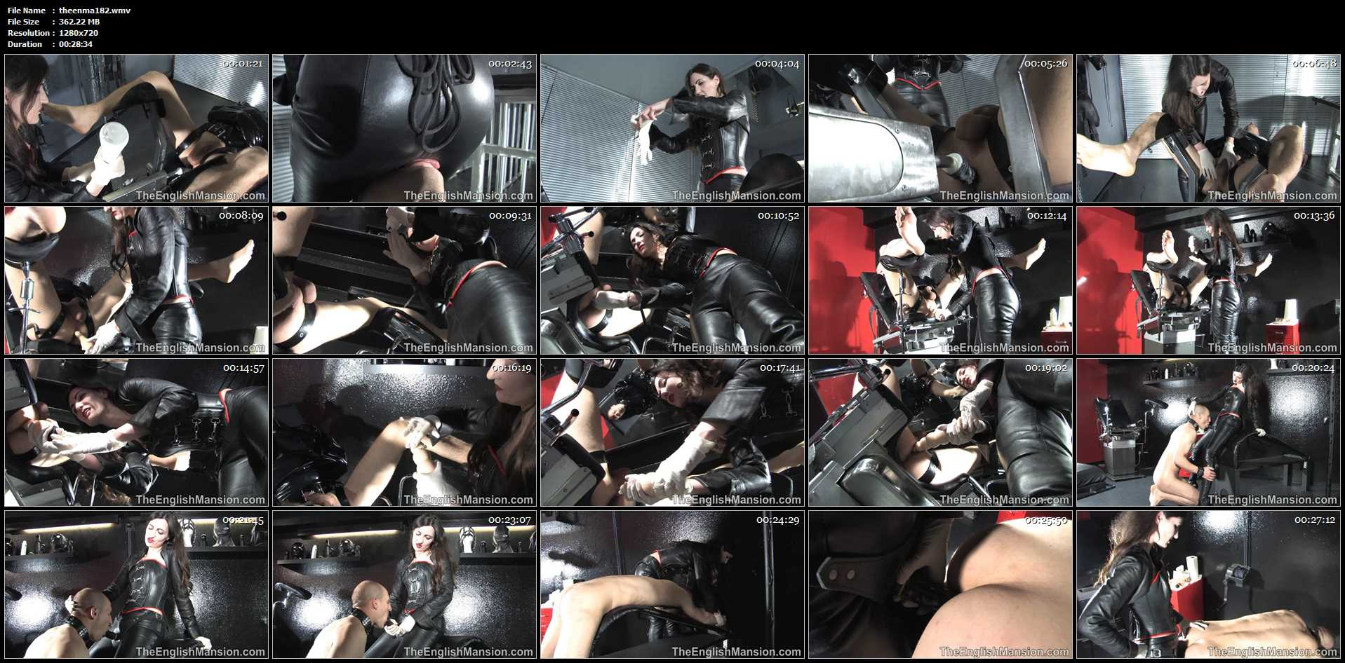 Lady Victoria In Scene: Anal Stretching - THEENGLISHMANSION - HD/720p/WMV
