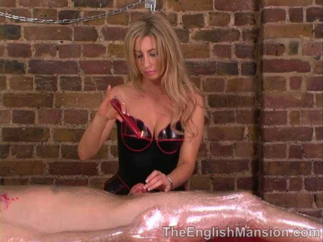 Mistress Anna Regent In Scene: Wrapped and Waxed - THEENGLISHMANSION - SD/480p/WMV