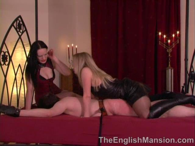 Mistress Rebekka, Mistress Sidonia In Scene: Threesome Surprise - THEENGLISHMANSION - SD/480p/WMV