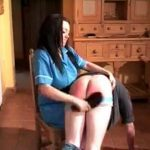 Domestic cruel Goddess hard spanking with her slipper – WOMENWHOPUNISH – LQ/240p/MP4