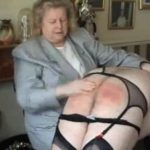 Mature strict woman punishes crossdressed male with spanking, paddling and caning – WOMENWHOPUNISH – LQ/288p/MP4