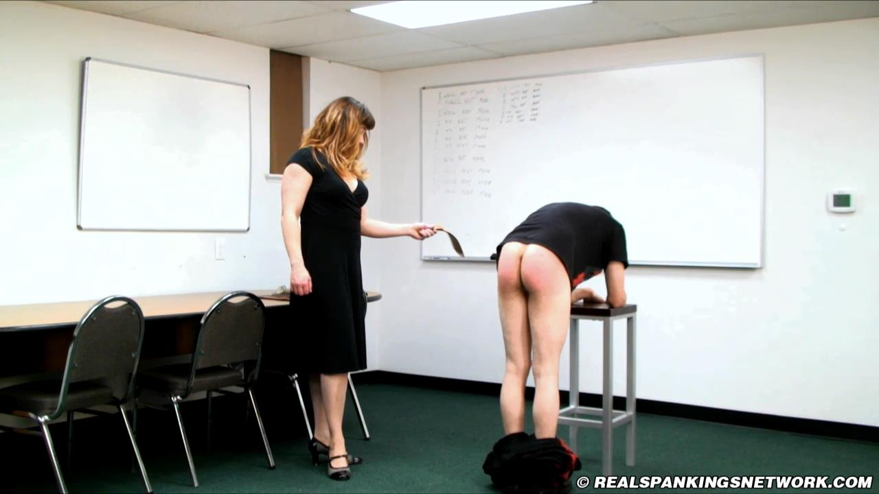 Miss Betty , Travis In Scene: I Will Not Move - WOMEN-SPANKING-MEN - HD/720p/MP4