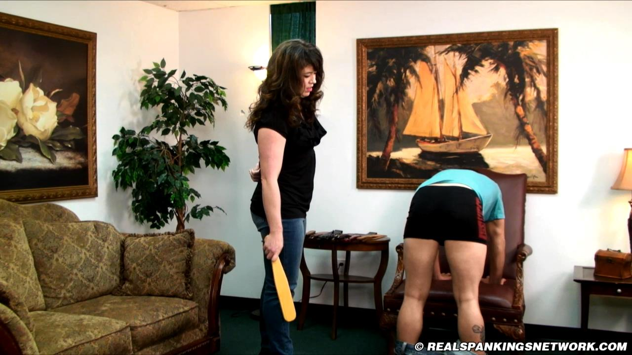 Miss Betty, Taylor In Scene: Interview with Taylor - WOMEN-SPANKING-MEN - HD/720p/MP4