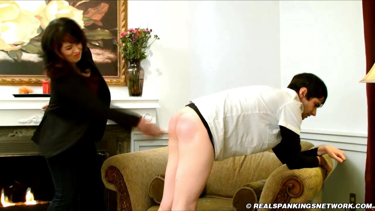Miss Betty, Zack In Scene: Caught in a Lie - WOMEN-SPANKING-MEN - HD/720p/MP4
