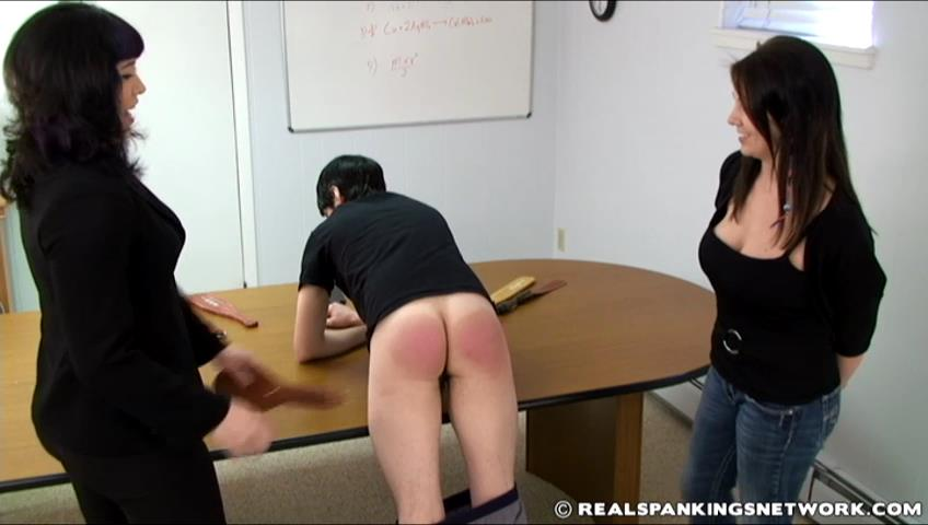Zack, Miss Betty, Lauren In Scene: Instruction Spanking with Lauren - WOMEN-SPANKING-MEN - SD/480p/RMVB