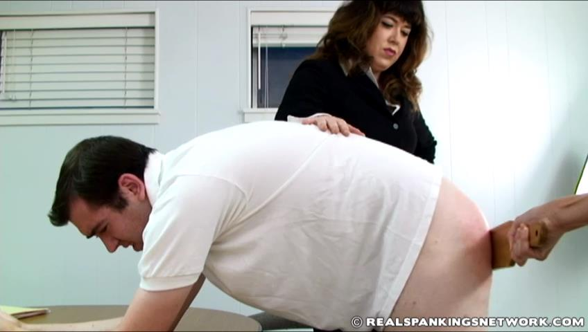 Miss Betty, Monica, Brian In Scene: Brian's Friday Punishment - WOMEN-SPANKING-MEN - SD/480p/RAM