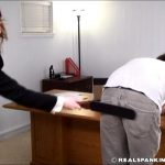 Steven, Miss Betty In Scene: Steven Punsihed by his Boss – WOMEN-SPANKING-MEN – SD/480p/RMVB
