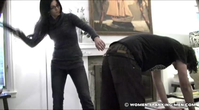 Miss Jade, Steven In Scene: Steven's Bad Day - WOMEN-SPANKING-MEN - SD/472p/RMVB