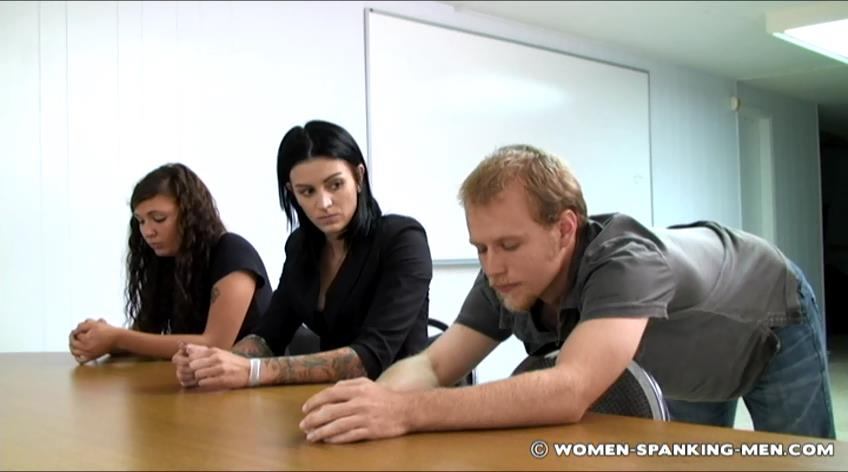 Austin, Jade, Frankie In Scene: Austin, Jade and Frankie Punished for Cheating - WOMEN-SPANKING-MEN - SD/472p/RAM