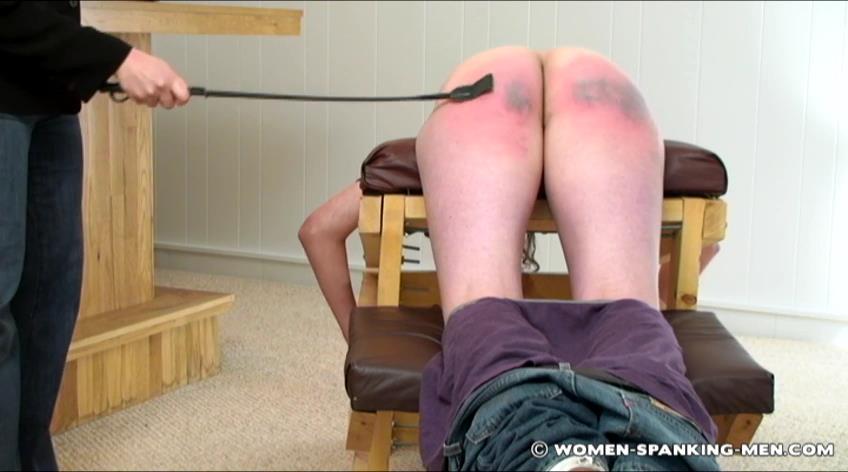 Steven In Scene: Steven's Multi Implement Punishment Session - WOMEN-SPANKING-MEN - SD/472p/RMVB