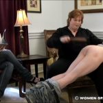 Brian, Miss Kay In Scene: Brian is Spanked by Miss Kay for Coming Home Late – WOMEN-SPANKING-MEN – SD/472p/RAM