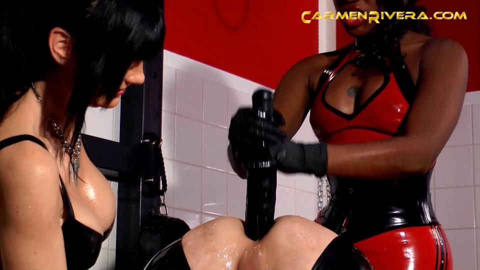 Mistress Carmen Di Rivera, Mistresse Sahara In Scene: The mucus Part 1 - Pure anal drill - YOURMISTRESS - SD/540p/MP4