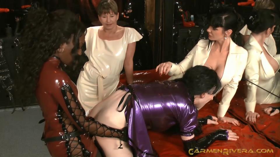 Mistress Cara, Baronessa Carmen Di Rivera In Scene: Naughty and Queer Part 2 - Bi-slaves - YOURMISTRESS - SD/540p/MP4
