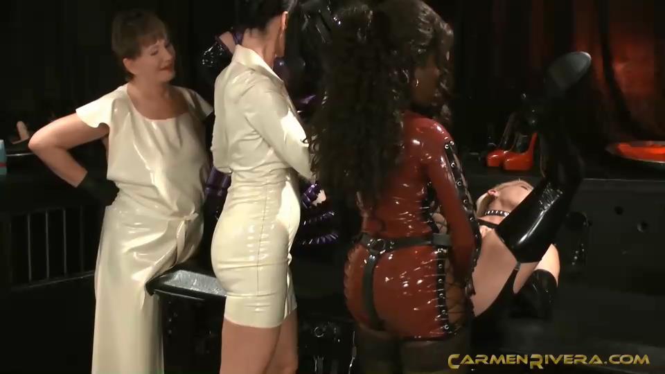 Mistress Cara, Baronessa Carmen Di Rivera In Scene: Naughty and Queer Part 3 - BLOWJOB TRAINING - YOURMISTRESS - SD/540p/MP4