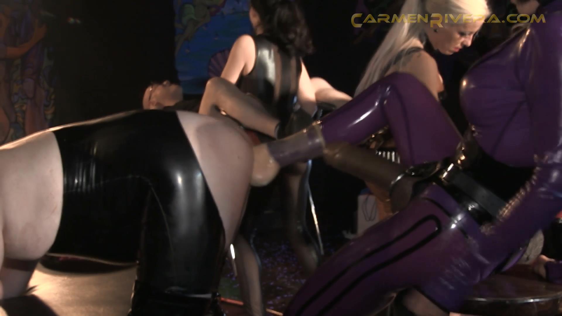 Baronessa Carmen Di Rivera In Scene: What a Fuck / KitKat Club Part 3 - YOURMISTRESS - FULL HD/1080p/MP4