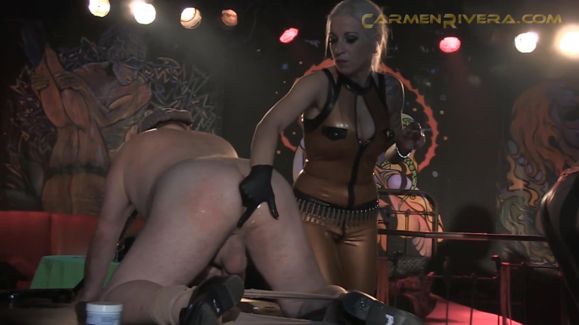 Baronessa Carmen Di Rivera In Scene: What a Fuck / KitKat Club Part 4 - YOURMISTRESS - FULL HD/1080p/MP4