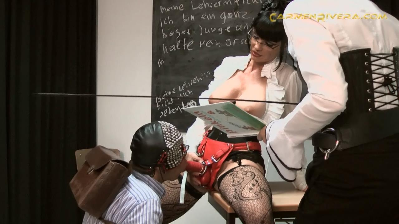 Baronessa Carmen Di Rivera In Scene: Director�s Cut Part 3 - YOURMISTRESS - HD/720p/MP4