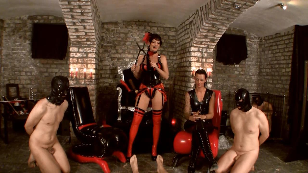Baronessa Carmen Di Rivera In Scene: Dildo Queens Part 3 - YOURMISTRESS - HD/720p/MP4