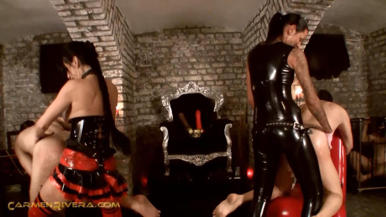 Baronessa Carmen Di Rivera In Scene: Dildo Queens Part 4 - YOURMISTRESS - HD/720p/MP4