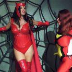 Anastasia Pierce, Goldie Blair In Scene: Scarlet Witch VS Spider Woman – XSITEABILITY / ANASTASIAPIERCE – HD/720p/MP4
