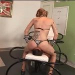 Amazon in panties completely cuts off air for her slave – BENEATHHER – SD/480p/MP4