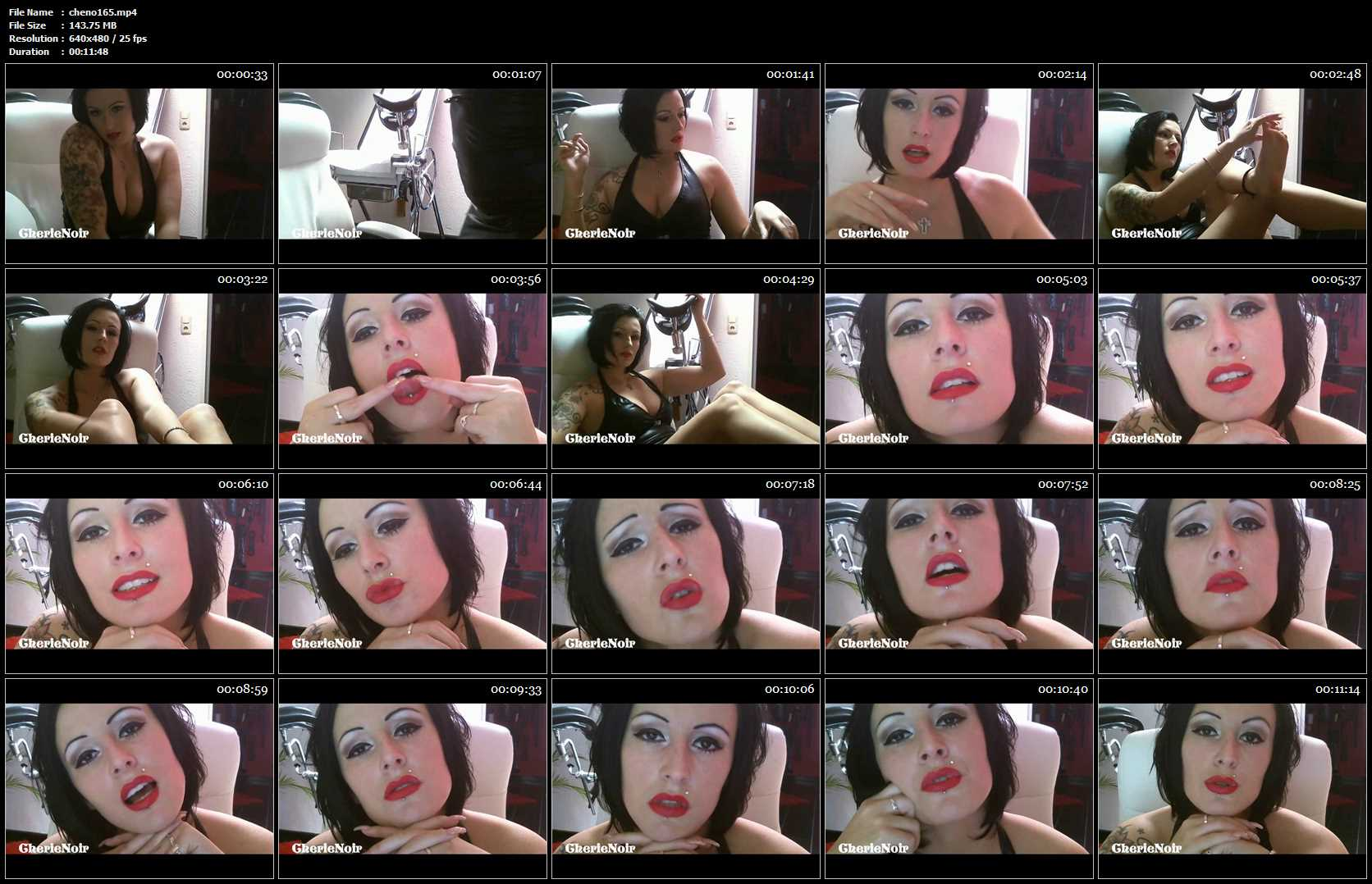 Lady Cherie Noir In Scene: Whore. Work For Me!. Mindfuck - CHERIE-NOIR - SD/480p/MP4