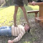 Mistress Maeva In Scene: Hard stocking feet throat crushing – FOOTFETISHATTITUDE – SD/576p/WMV