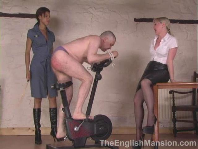 Domina Dante Posh, Mistress Sidonia In Scene: You Can Run, But You Can't Hide - THEENGLISHMANSION - SD/480p/WMV
