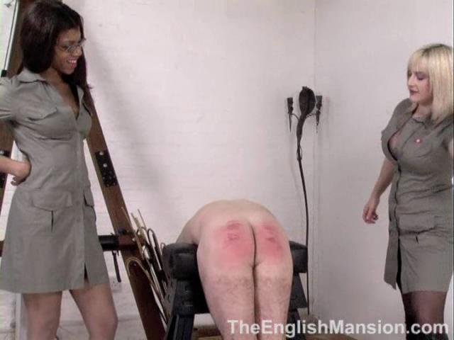 Domina Dante Posh, Lady Nina Birch In Scene: CP Training - THEENGLISHMANSION - SD/480p/WMV
