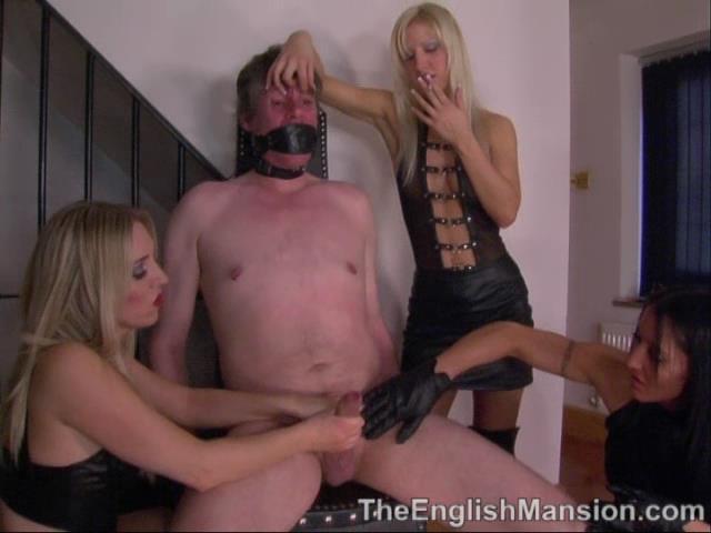 Mistress Sidonia, Mistress Vixen, Princess Anuska In Scene: Look But Don't Touch - THEENGLISHMANSION - SD/480p/WMV