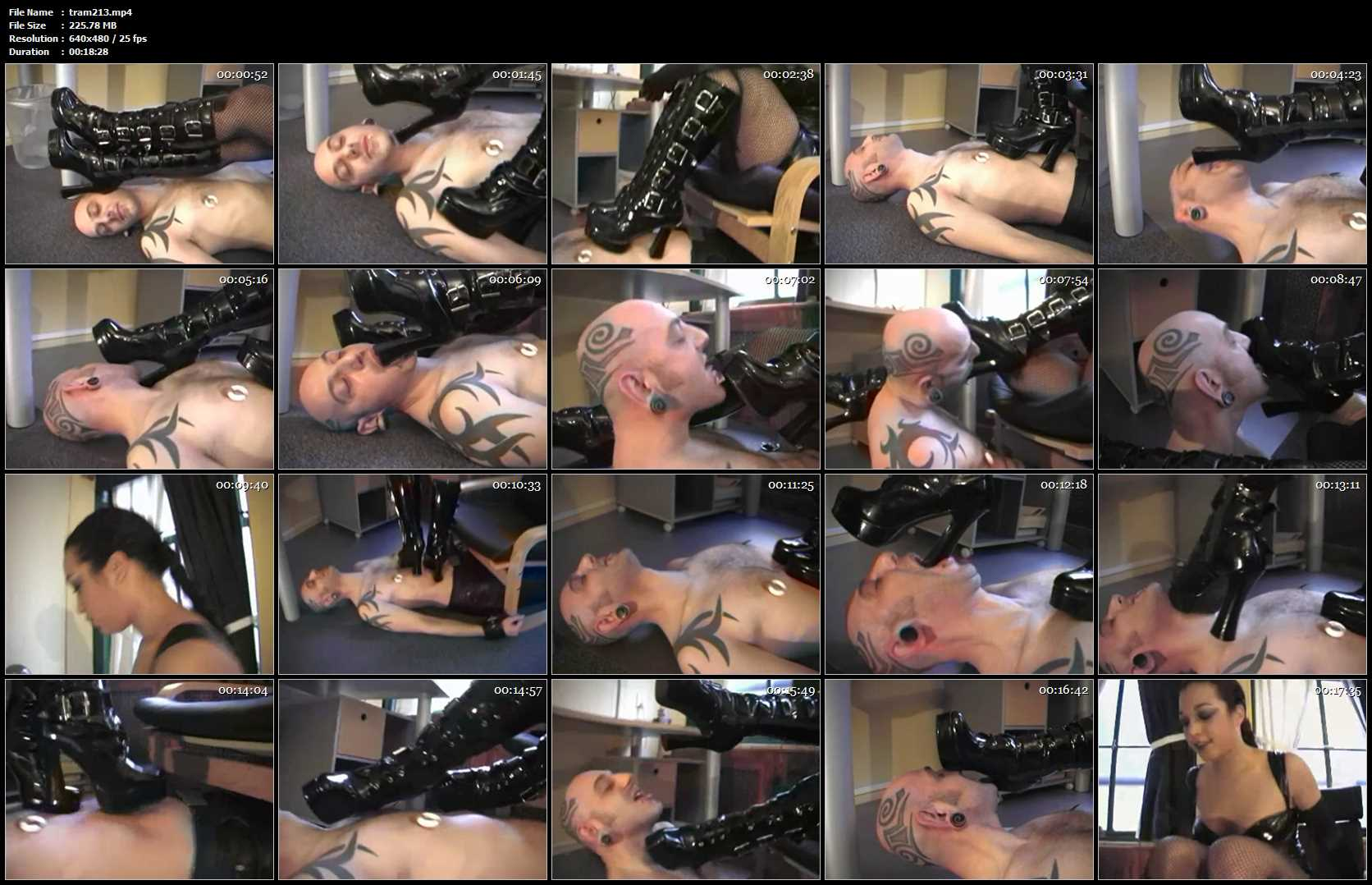 LADY YVAN 1 - TRAMPLE-AMSTERDAM - SD/480p/MP4