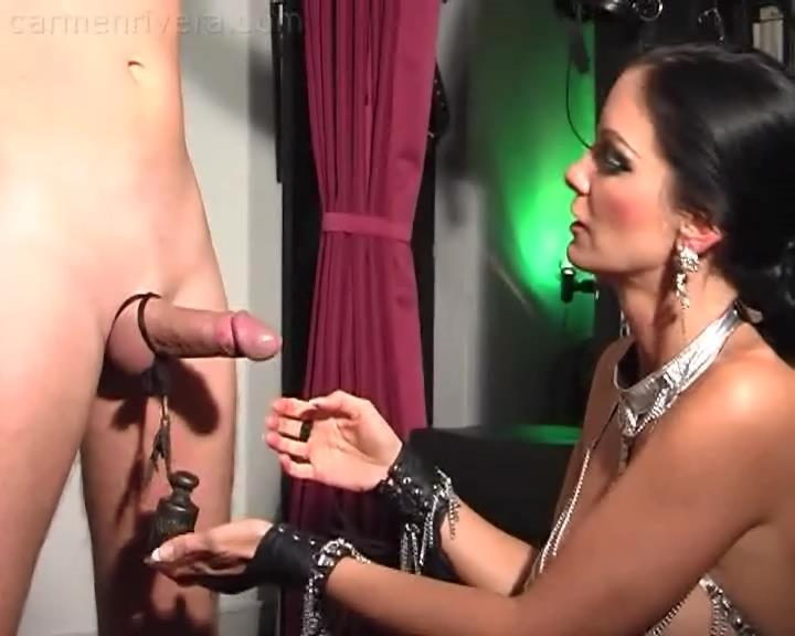 Carmen Di Rivera In Scene: Cock and Ball Pain Part 1 - YOURMISTRESS - SD/576p/WMV