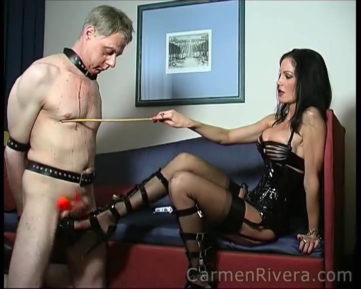 Carmen Di Rivera In Scene: Extreme Torture Part 1 - YOURMISTRESS - SD/576p/WMV
