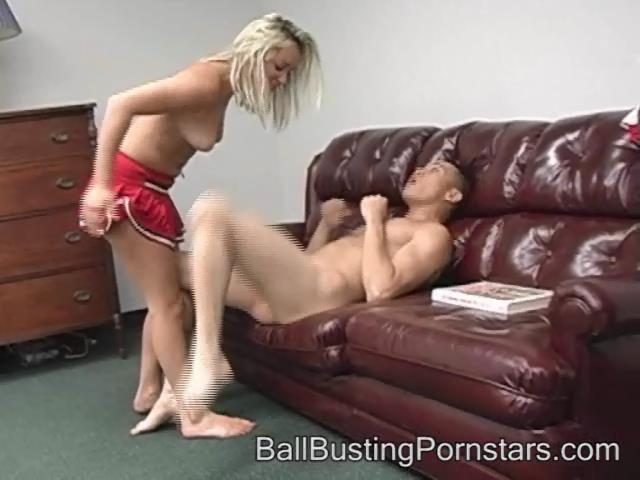 Sky Waters In Scene: POV Ballbusting and Ballpunching - BALLBUSTINGPORNSTARS - SD/480p/WMV