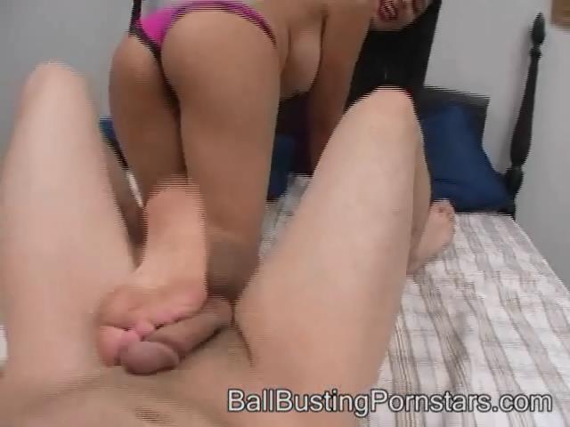 Lidia Love In Scene: Ballbusting Cumshot and Femdom - BALLBUSTINGPORNSTARS - SD/480p/WMV