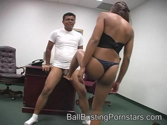 Misty Stone In Scene: Ballpunching and BallkickingTease and Denial - BALLBUSTINGPORNSTARS - SD/480p/WMV