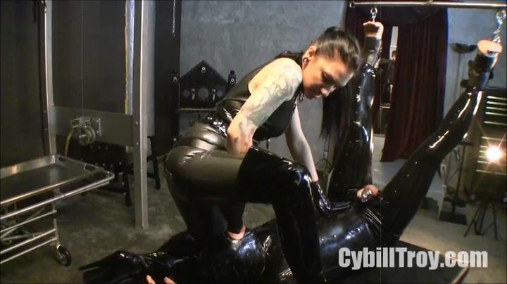 Cybill Troy In Scene: Ass to Mouth Rubber Fucker - CYBILLTROY - SD/416p/MP4