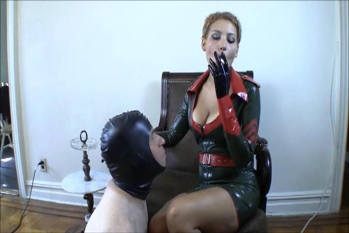 Cybill Troy In Scene: Human Ashtray in Military Rubber With Cecelia Cane - CYBILLTROY - SD/480p/MPG