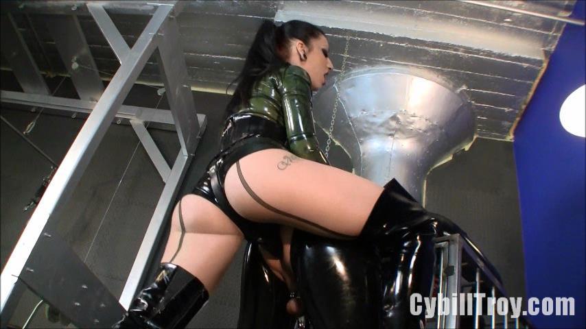 Cybill Troy In Scene: Rubber Sodomy Gimp - CYBILLTROY - SD/480p/WMV
