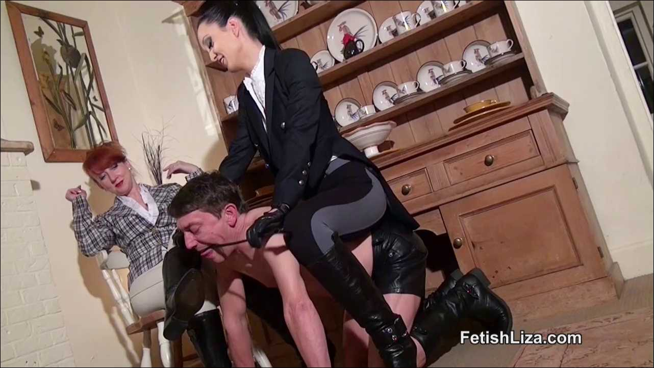 Fetish Liza In Scene: Double trouble for stable boy - FETISHLIZA - HD/720p/MP4