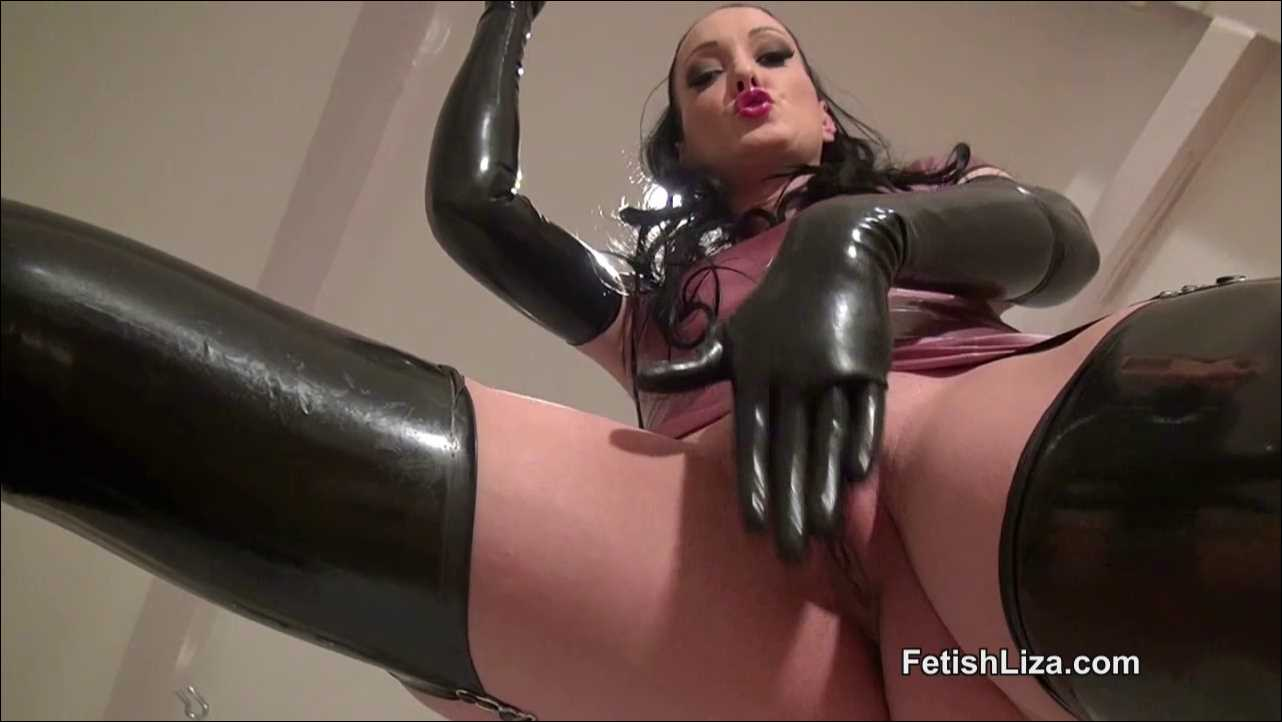 Fetish Liza In Scene: Rubber masturbation - FETISHLIZA - HD/720p/MP4