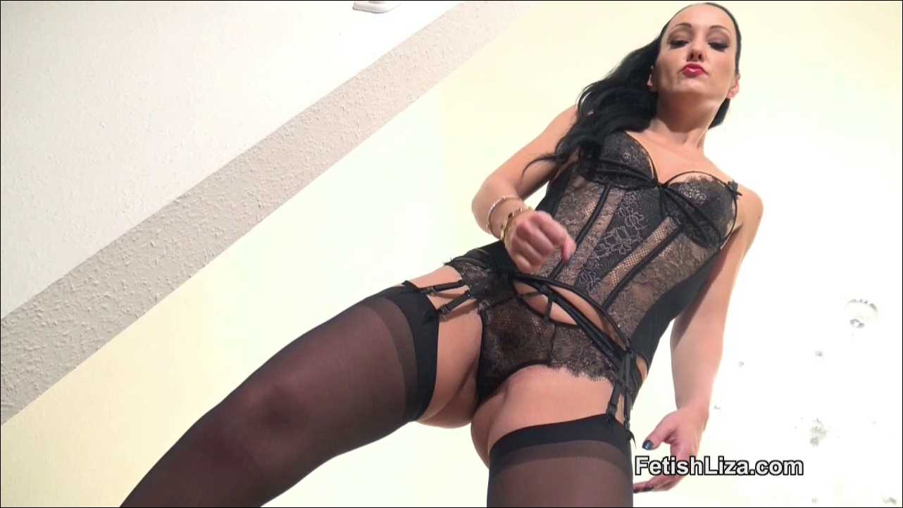 Fetish Liza In Scene: Cum on my lace panties - FETISHLIZA - HD/720p/MP4