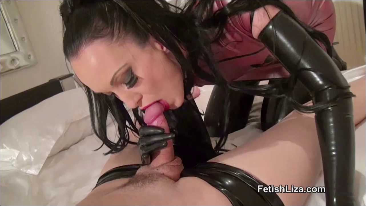 Fetish Liza In Scene: Milked by your rubber queen - FETISHLIZA - HD/720p/MP4