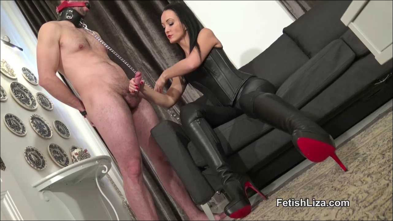 Fetish Liza In Scene: Ruined orgasm handjob - FETISHLIZA - HD/720p/MP4