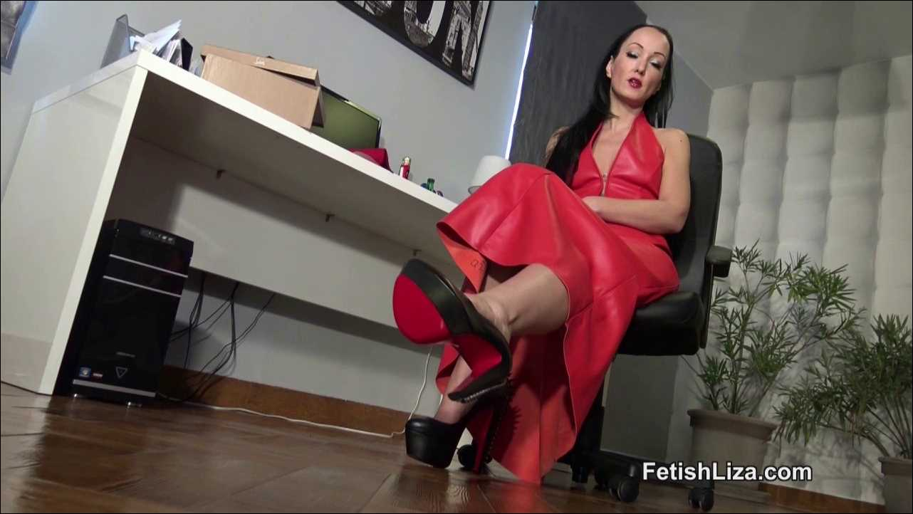 Fetish Liza In Scene: My owned slaves Christmas gift - FETISHLIZA - HD/720p/MP4