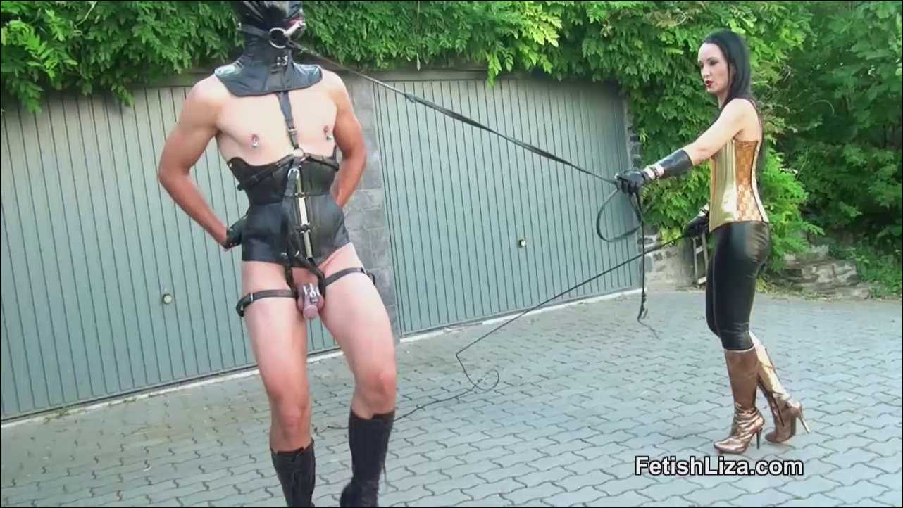 Fetish Liza In Scene: Fetish pony play - FETISHLIZA - HD/720p/MP4