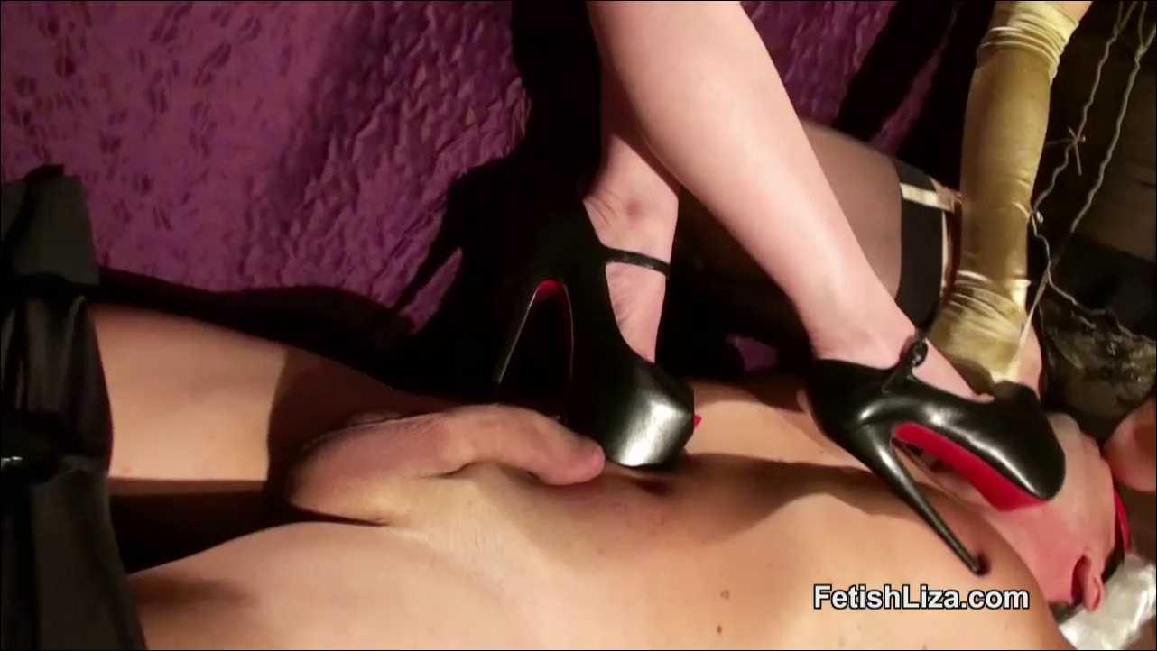 Fetish Liza, Mistress T In Scene: Horny masked Mistresses part 2 - FETISHLIZA - HD/720p/MP4
