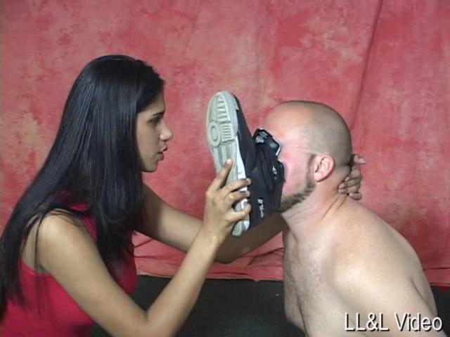 Mistress Gemini In Scene: Gemini Says Sniff Lick Or Be Kicked - FORCEDMEN - SD/480p/WMV