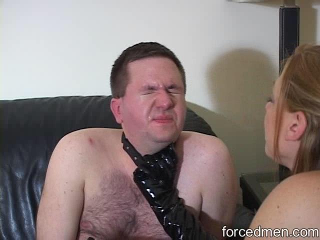 Mistress Mariah In Scene: Mistress Mariah spits and slaps him senseless - FORCEDMEN - SD/480p/WMV